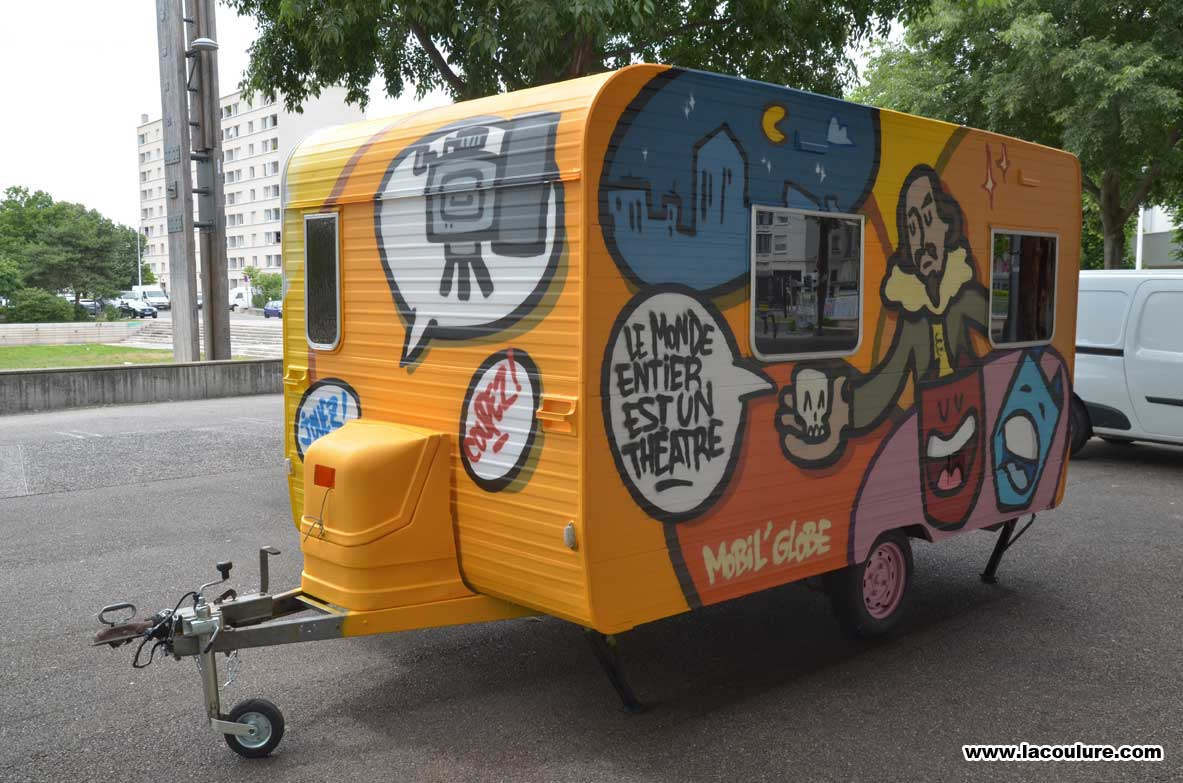 caravane mobil 39 globe la coulure. Black Bedroom Furniture Sets. Home Design Ideas