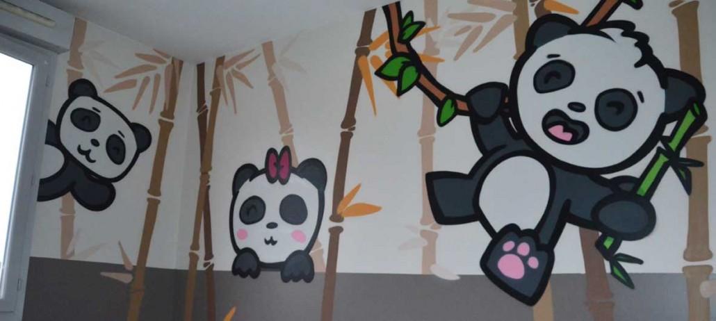 Deco Graffiti Pour Une Chambre De Bebe La Coulure