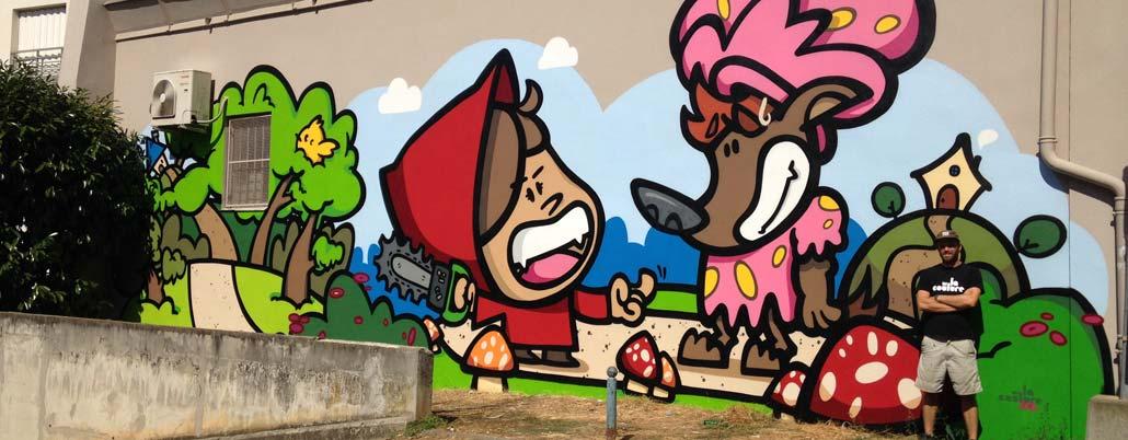 art enfants fresques ecole