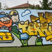 street art lyon la coulure