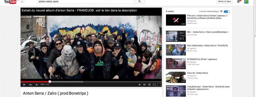 "anton serra ""zairo"" clip sur le graffiti à lyon"