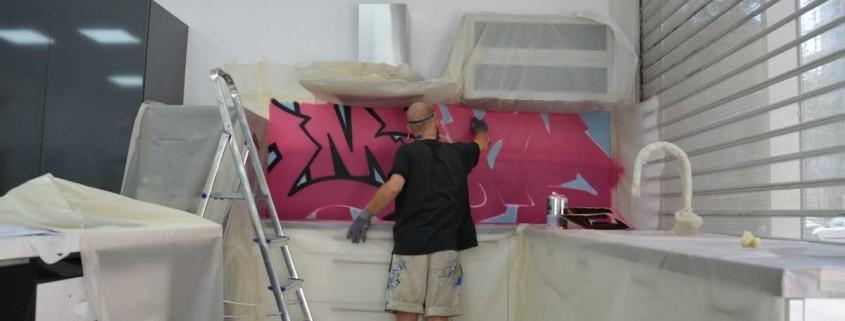 cuisine graffiti street art lyon