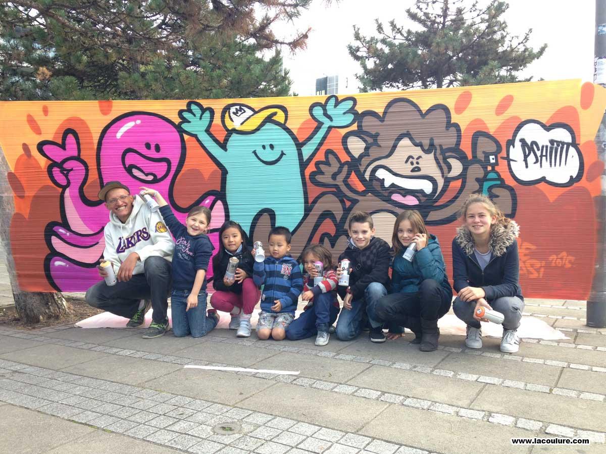 graffiti workshop à lyon