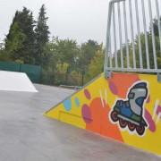 graffiti skate park street art france