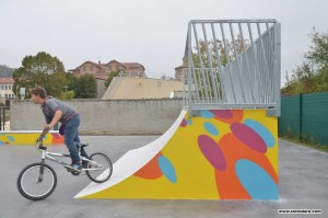 graffiti skate park street art france
