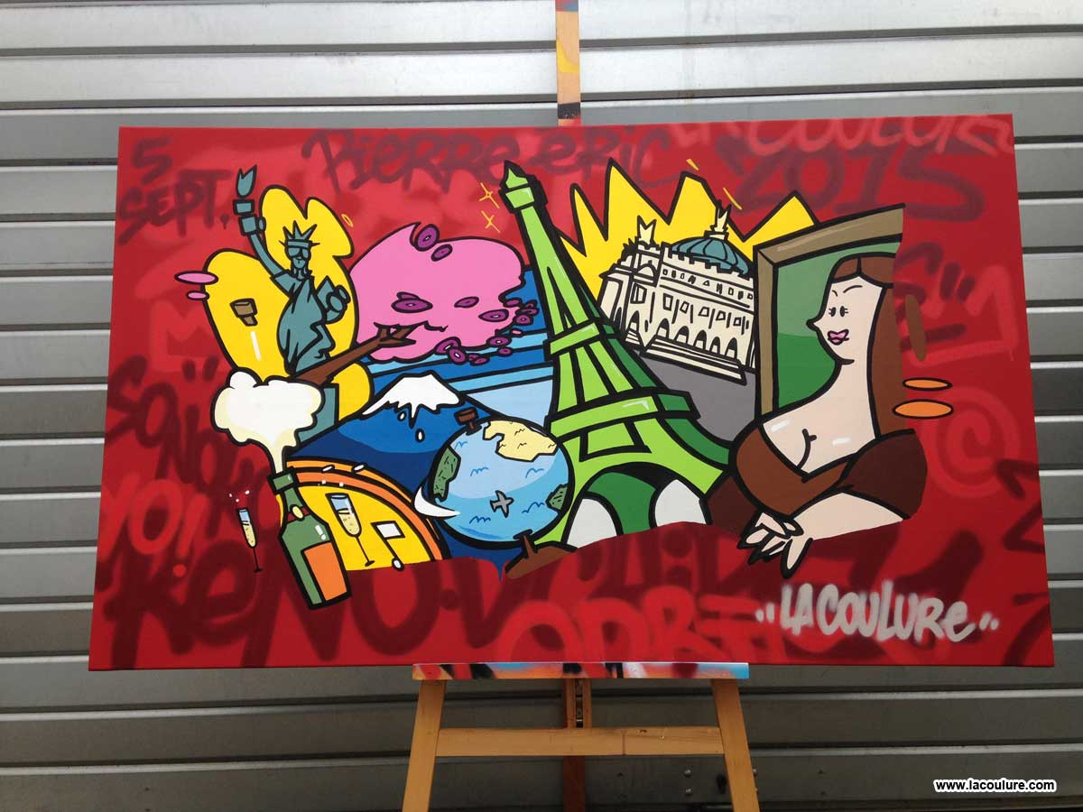 paris tokyo newyork graffiti