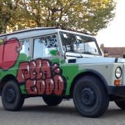 graffiti street art vehicule lyon italie