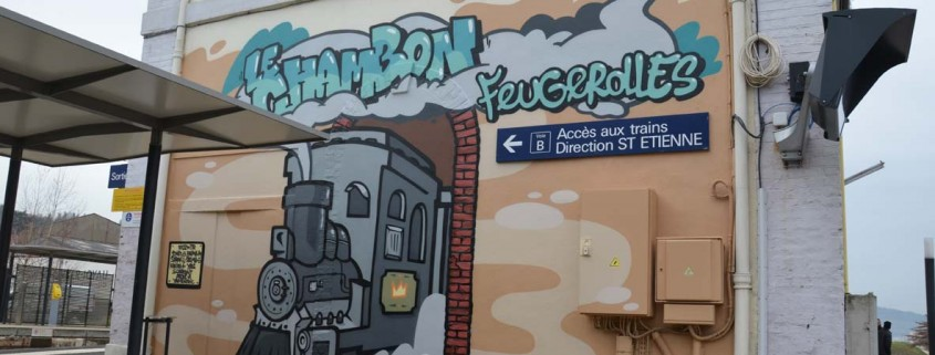street art sncf train gare