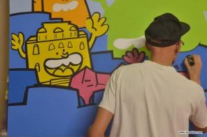 livepainting demonstration street art graffiti