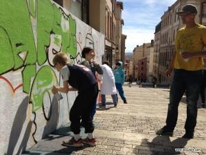 graffiti street art lyon