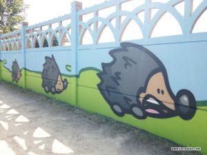 graffiti peinture ecole