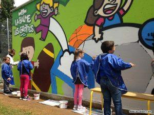tag graffiti street art scolaire