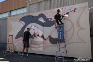 graffiti basket lyon